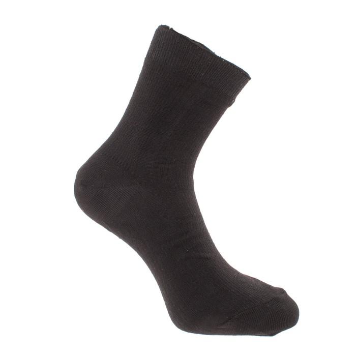 Носки мужские, размер 25-27 (24-28 см), цвет чёрный