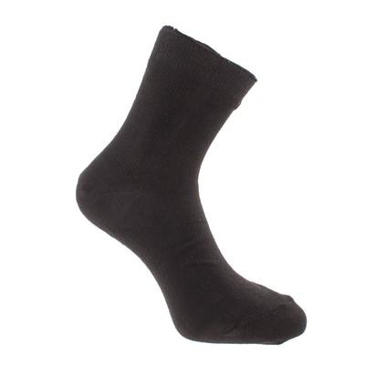 Носки мужские, цвет чёрный, размер 27-29 (размер обуви 42-45)