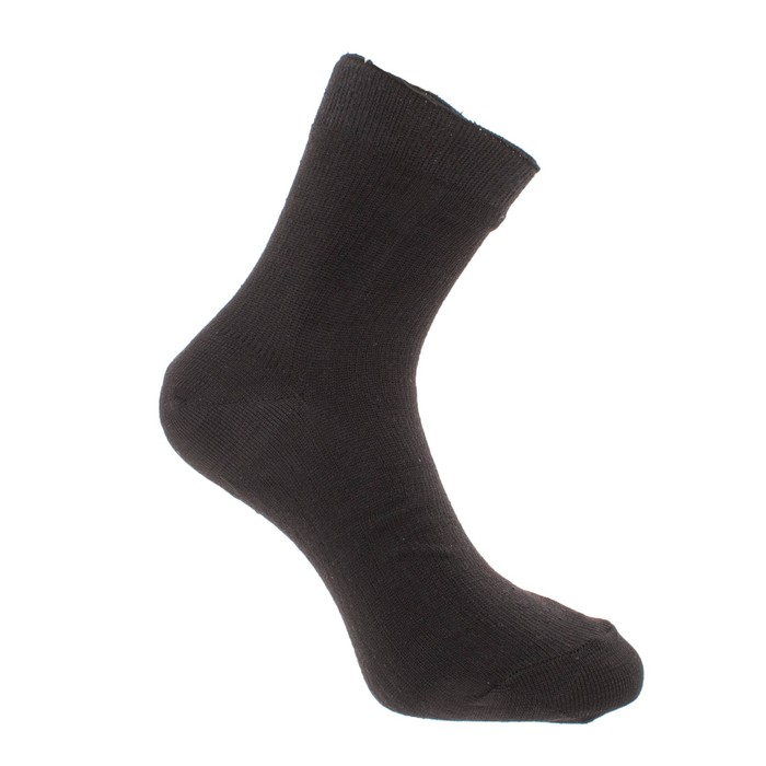 Носки мужские, цвет чёрный, размер 29-31 (размер обуви 45-47)