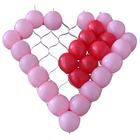 Сетка для шаров, в виде сердца