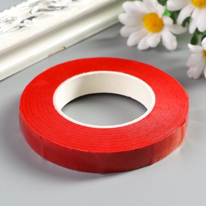 """Тейп-лента """"Красная"""" намотка 27,3 метра ширина 1,2 см"""