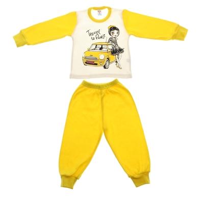 Пижама для девочки, рост 80-86 см (52), цвет МИКС 5271