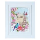 """Картина на керамике """"PARIS"""", 23 х 23 см"""