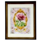 "Картина на керамике ""Королеве изящества и красоты"", 23 х 23 см"