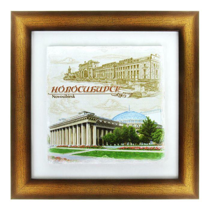 Панно интерьерное «Новосибирск»