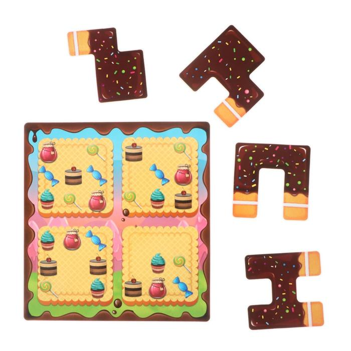 Магнитная игра «Сладкоежка»