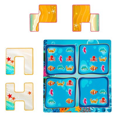 Магнитная игра «Подводная ферма»