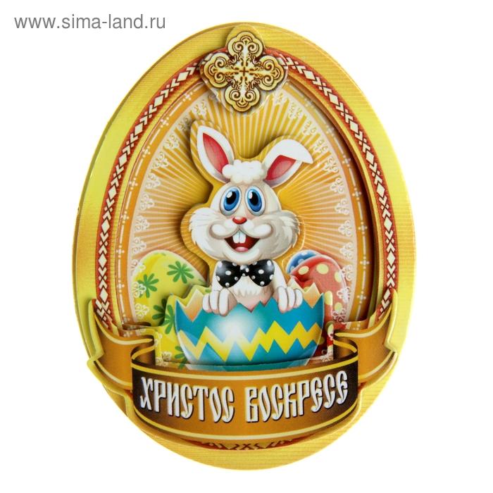 """Многослойный магнит """"Пасхальный кролик"""""""