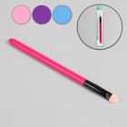 Аппликатор для нанесения теней, цвет МИКС