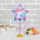 "Balloon foil 7"" ""Bear"" Ball+clamp+tube+stand"