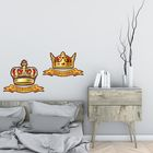 """Наклейка интерьерная """"Король и Королева"""""""