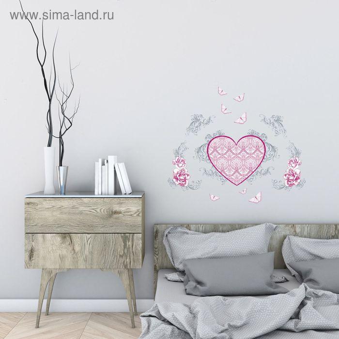 """Наклейка интерьерная """"Сердце"""""""