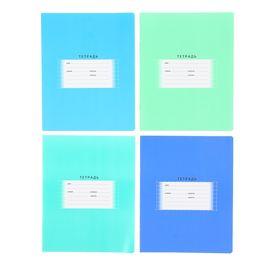 Тетрадь 18 листов в клетку «Школьная», обложка мелованный картон, блок офсет, МИКС