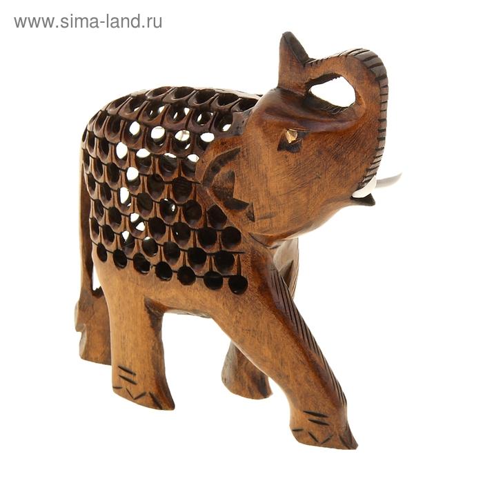 """Сувенир """"Резной слоник"""""""