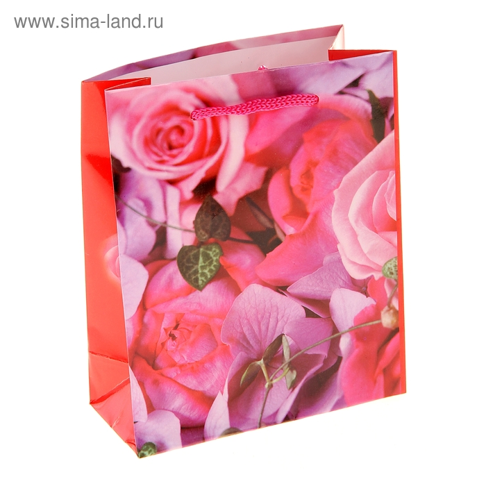 """Пакет ламинированный """"Розовый букет"""""""