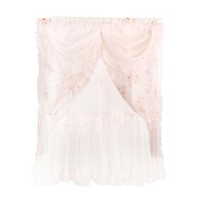 Занавеска 'Нежность', цвет розовый Ош