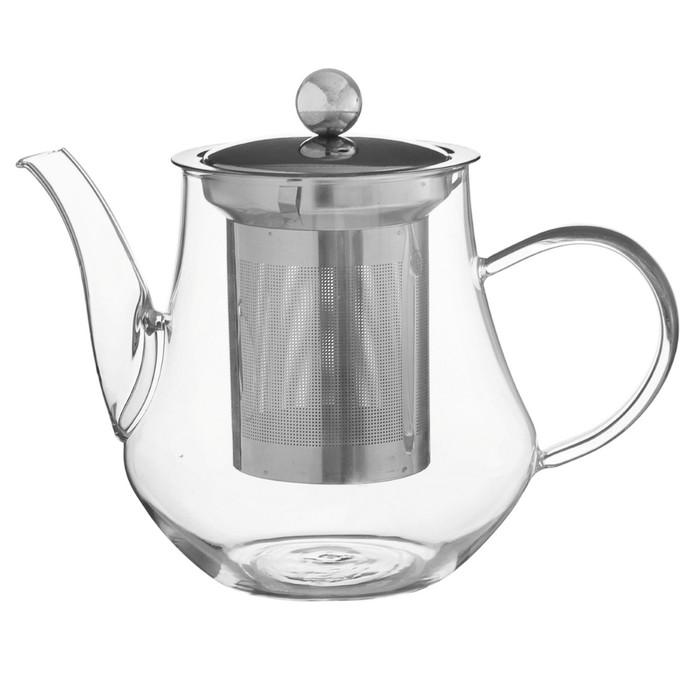 "Чайник заварочный с металл ситом ""Талина"" 700 мл"
