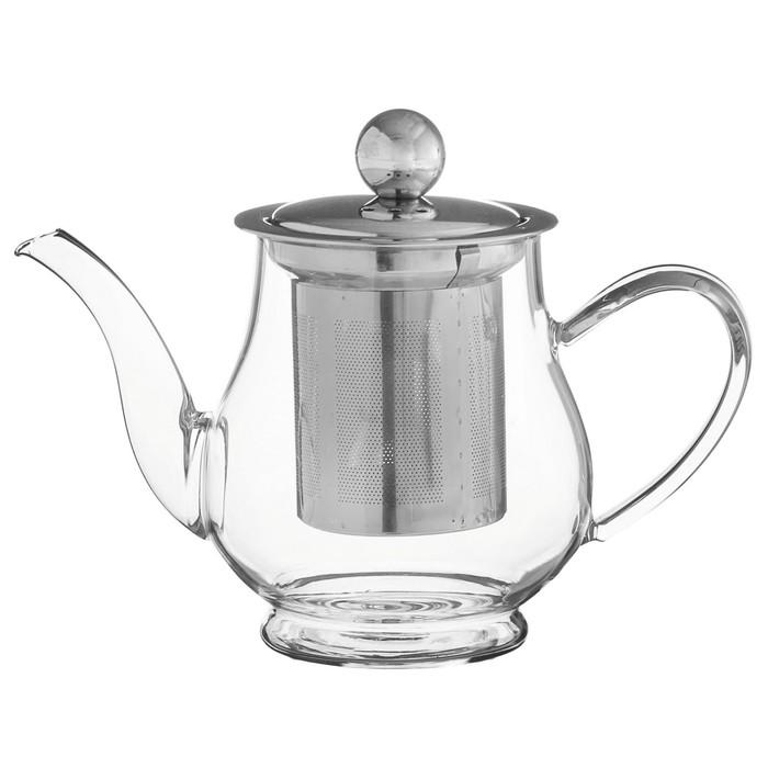 """Чайник заварочный с металл сотом """"Талина"""" 400 мл"""