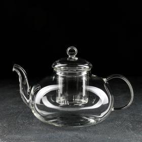 Чайник заварочный «Валенсия», 1,5 л, стеклянное сито