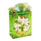 Ароматизированный набор для упаковки подарка «Нежная лилия», MS 18 х 23 х 8 см