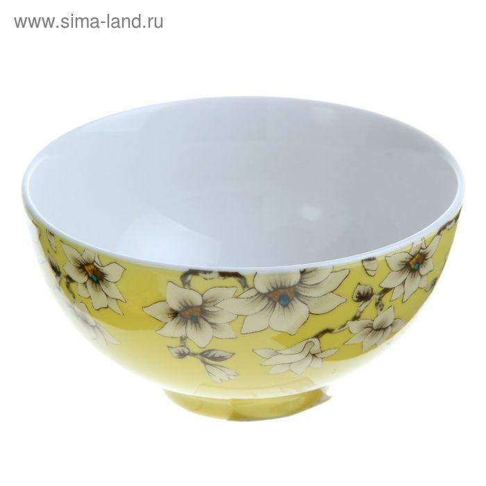 "Миска ""Нарцисс"" 250 мл, цвет желтый"