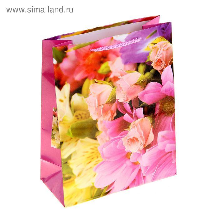 """Пакет ламинированный """"Цветочное изобилие"""""""