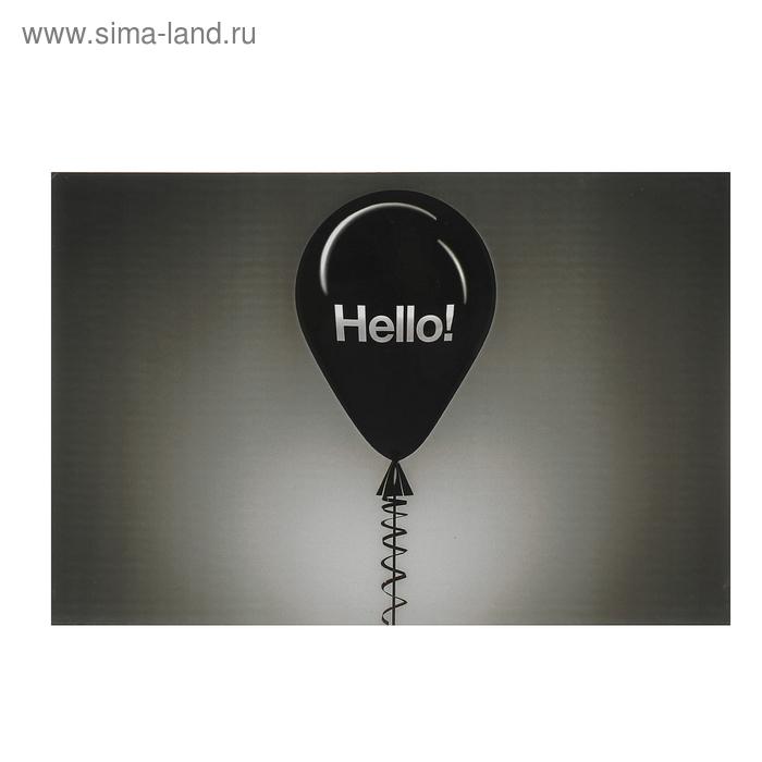 Панно настенное дизайнерское Hello!