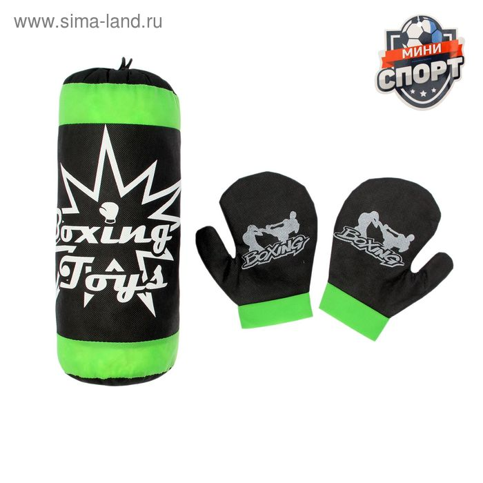 """Детский боксёрский набор """"Боксёр"""": груша и перчатки"""