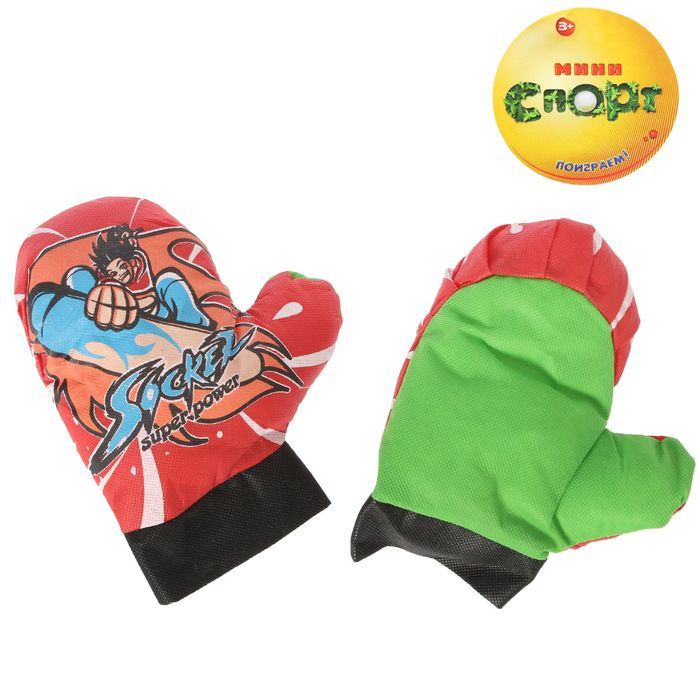 Набор перчаток для бокса, цвета МИКС