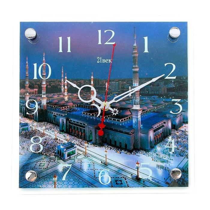 """Часы настенные, серия: Город, """"Мекка"""", 25х25  см, микс"""
