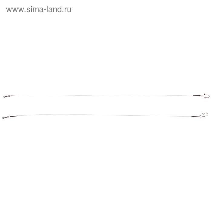 Поводок Акаrа Titan Leader 0,2 мм, 4,2 кг 25 см (набор 2 шт)