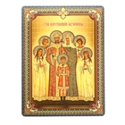 "Icon ""Holy Royal Martyrs"", 3D, the adhesive-based"