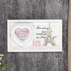 """Photo frame 10x10 cm """"Love in Paris"""""""