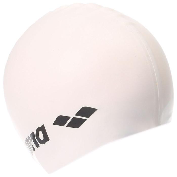 Шапочка для плавания ARENA Classic Silicone, безразмерная, цвет белый