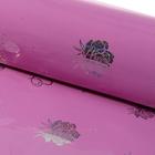 "Paper holographic ""Bouquet"", color raspberry"