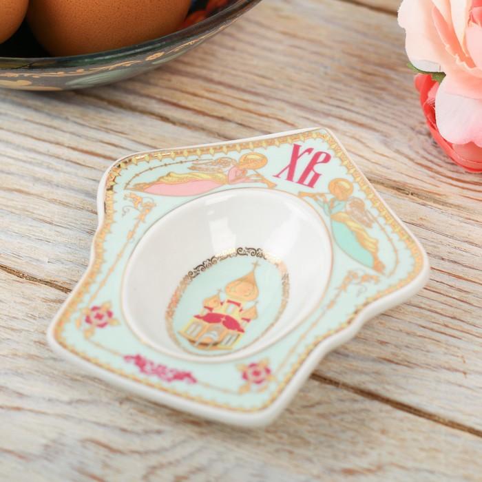 "Фигурная подставка на 1 яйцо ""Купол. Ангелы"""