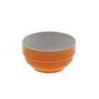 "Салатник 300 мл ""Stackable. Вербена"" 10х5 см, цвет оранжевый"