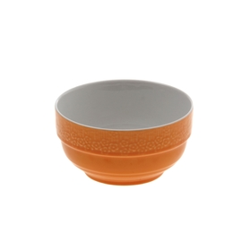 Салатник 300 мл 'Stackable. Вербена' 10х5 см, цвет оранжевый Ош