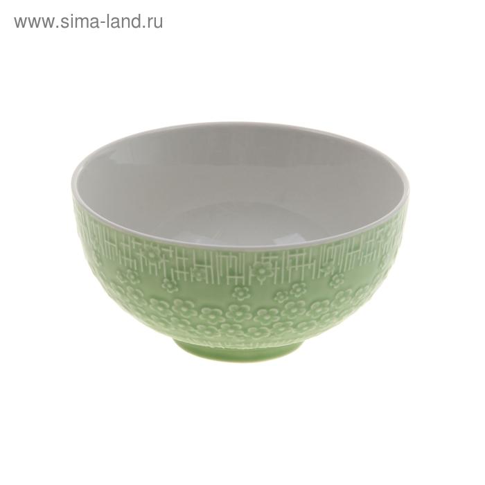 "Миска ""Вербена"" 450 мл 13х7 см, зеленый"