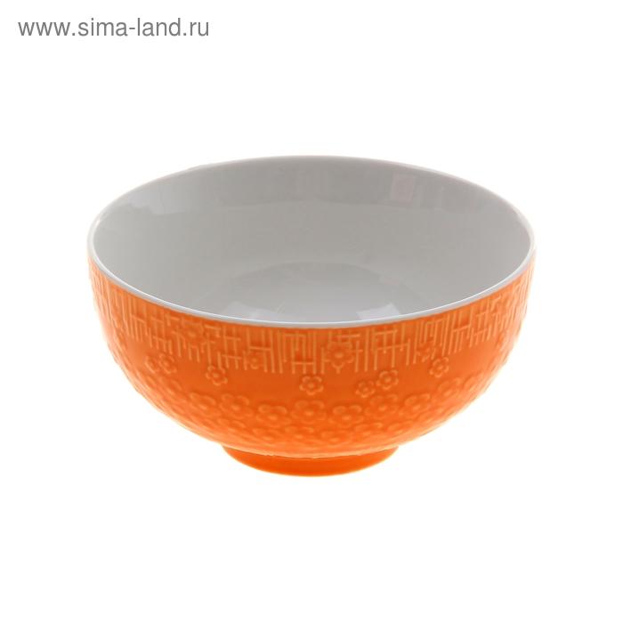 "Миска ""Вербена"" 450 мл 13х7 см, оранжевый"