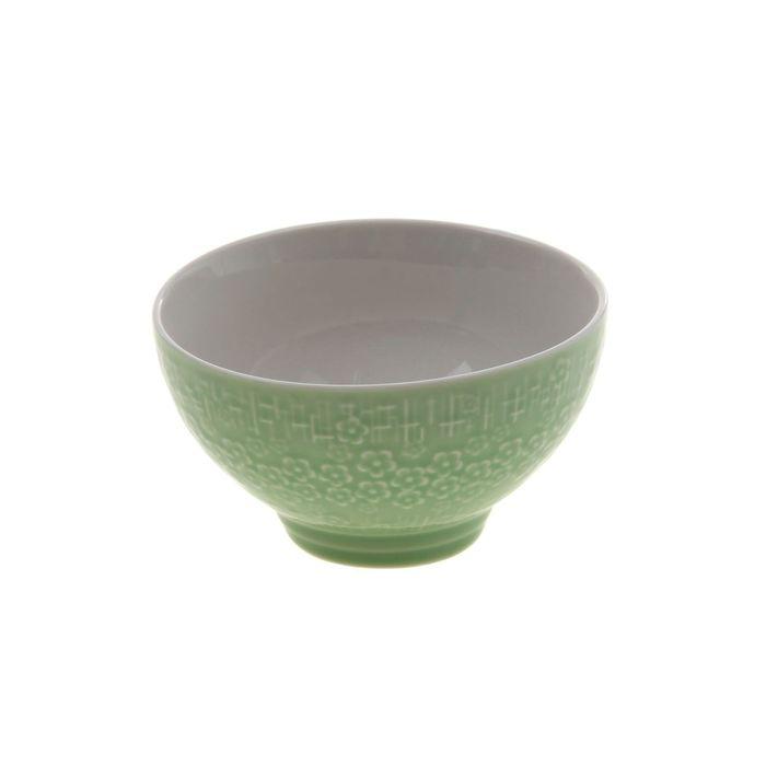 Миска «Вербена» 300 мл, 11×6 см, цвет зелёный - фото 146642998