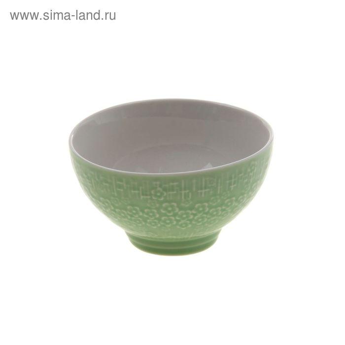 "Миска ""Вербена"" 300 мл 11х6 см, зеленый"