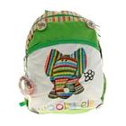 Рюкзак школьный Fabric Animals с 2-мя отделениями, 2-я карманами, вентилируемой спинкой 38x28x11см