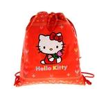 Мешок для обуви классический без кармана (46*37*10 см) Hello Kitty-Fairy
