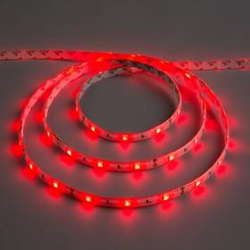 Светодиодная лента 12В, SMD5050, 5 м, IP65, 30 LED, 7.2 Вт/м, 14-16 Лм/1 LED, DC, КРАСНЫЙ