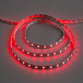 Светодиодная лента 12В, SMD5050, 5 м, IP33, 60 LED, 14.4 Вт/м, 14-16 Лм/1 LED, DC, КРАСНЫЙ