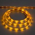 Светодиодная лента 12В, SMD5050, 5 м, IP68, 30 LED, 7.2 Вт/м, 14-16 Лм/1 LED, DC, ЖЁЛТЫЙ