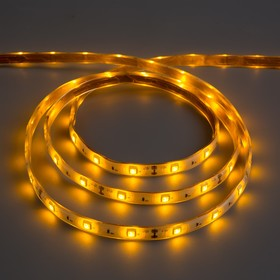 Led light strip 12V, SMD5050, 5 meters, IP68, 30 LED, 7.2 W/m, 14-16 LM/LED 1 DC, YELLOW