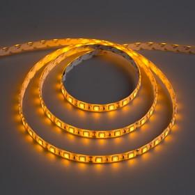 Светодиодная лента 12В, SMD5050, 5 м, IP65, 60 LED, 14.4 Вт/м, 14-16 Лм/1 LED, DC, ЖЁЛТЫЙ