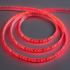 12V led strip light, SMD3528, 5m, IP68, 120 LED, 9.6 W/m, 6-7 LM/LED 1 DC, RED